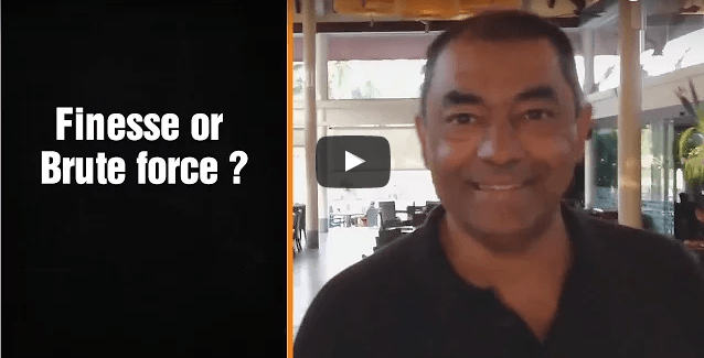 Finesse or Brute force ? – Award Winning Accountant