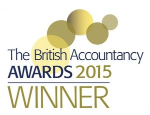 British accountancy award winner 2015