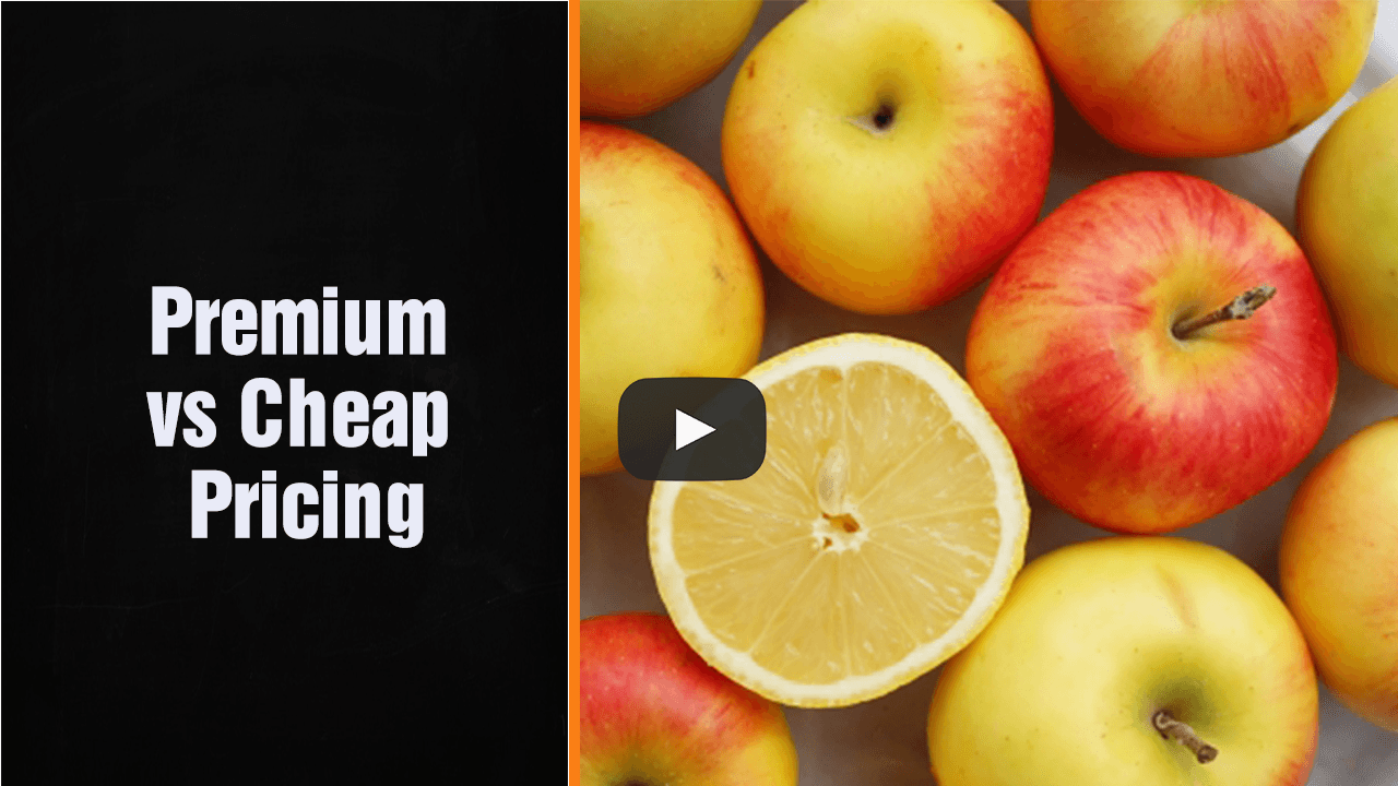 Premium vs Cheap Pricing – Award Winning British Accountant