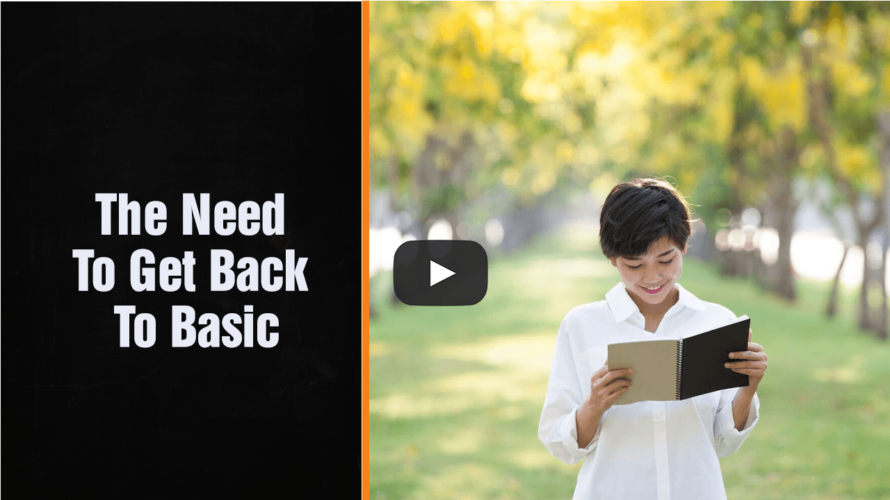The Need To Get Back To Basic – Multi – Award Winning Accountant