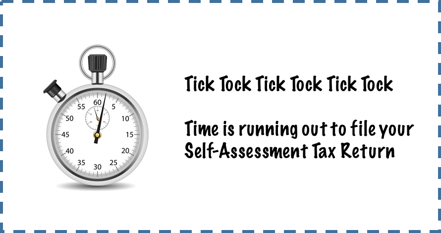 Self Assessment 2016- Deadline to get your checklist back to us